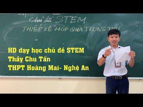 HD dạy học theo định hướng STEM toán Tiết 1: Thầy Chu Tấn- và lớp 12A1-12A10 THPT Hoàng Mai
