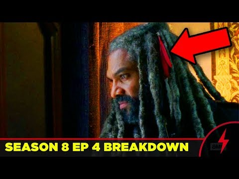 Walking Dead 8x04 Breakdown - WHY EZEKIEL FAILED (