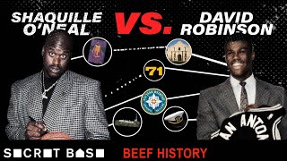 Shaq's 10-year beef with David Robinson included the pettiest 71-point game and one huge lie thumbnail