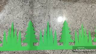 Christmas Display Board Border Decoration Ideas For School, Home, Office | Christmas Decoration Idea