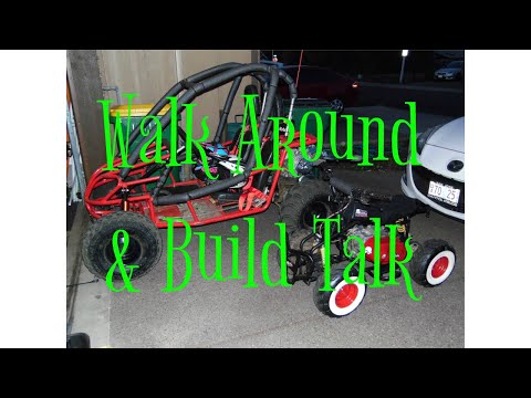 Mini Baja Sand Rail with 420cc & Micro Rat Quad Walk around