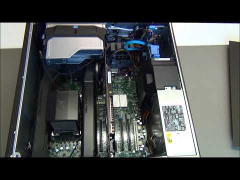 DELL T3610  (i7-7700+)  E5-2650v2, 16 Gb ddr3, SSD,  685W TÁP,   HA I7-7700 NEM ELÉG, ITT NÉZZ KÖRBE Kép