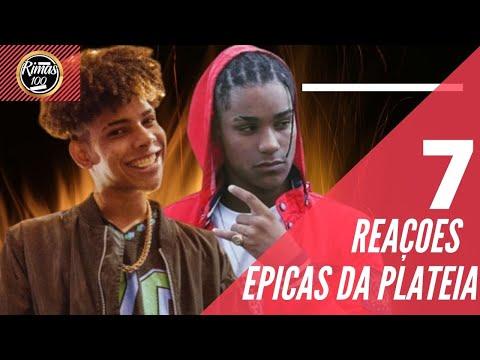 7 REAÇÕES ÉPICAS DA PLATEIA 😏!!!BATALHA DE RAP