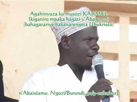 Abagorozi n'Aba islam i Ngozi-Burundi Part 1