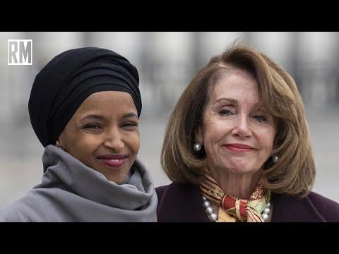 Ilhan Omar Celebrates Nancy Pelosi's Endorsement