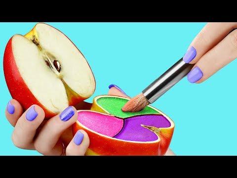 17 Weird Ways To Sneak Makeup Into Class / Back To School Pranks