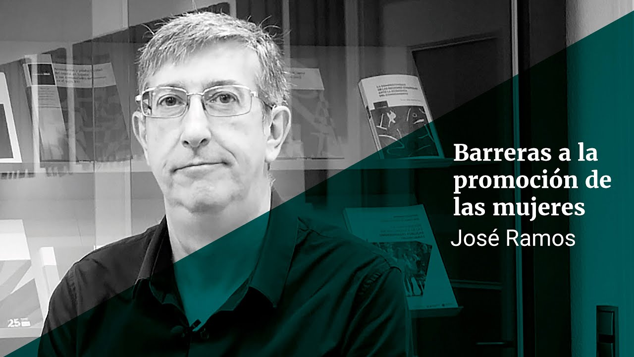 Jose Ramos: barreras a la promoción de las mujeres