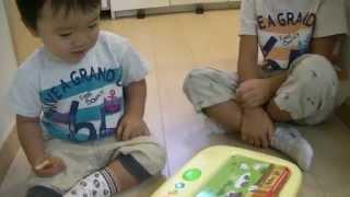 英語学習【1才と6才☆プレイボードカードで知育遊び】
