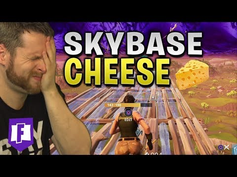 Hiding in a Skybase on Fortnite