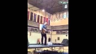 "JT Hodges Performing ""Hunt You Down"" At Oakridge High School"
