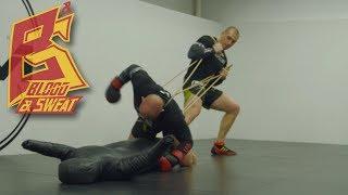 Тренировка добивания в ММА - как отрабатывать на манекене, как сильно бить. Дмитрий Сосновский.