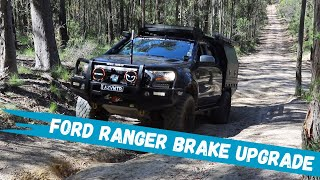 Ford Ranger, whats the best brake upgrade?