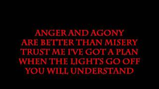 Three Days Grace- Pain Lyrics (HD)