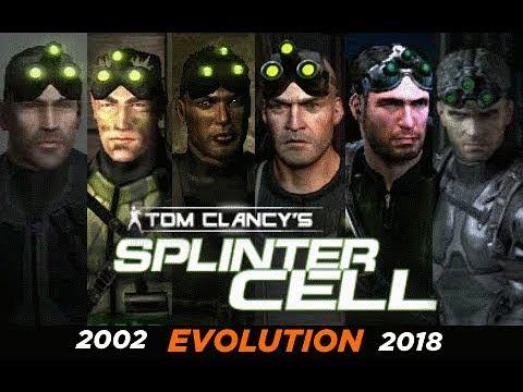 Эволюция игр Splinter Cell все части (+ Ссылки на скачивание)