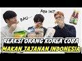 REAKSI ORANG KOREA MAKAN JAJANAN KHAS INDONESIA 인도네시아 과자를 먹은 한국인의 반응