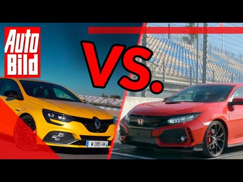 Renault Mégane R.S. Trophy vs. Honda Civic Type R (2019): Duell - Test - Track