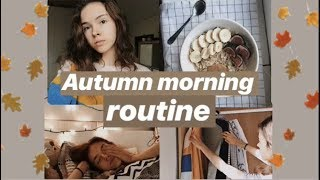Autumn morning routine 2018 | Simona C
