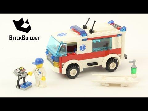 Vidéo LEGO City 7890 : L'ambulance
