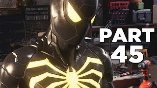 SPIDER-MAN PS4 Walkthrough Gameplay Part 45 - END GAME SUIT (Marvel