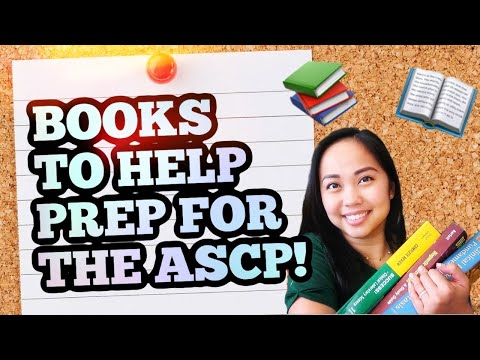 Books to help prep for the ASCP - YouTube