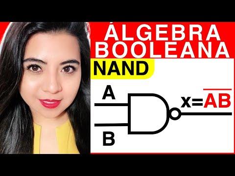 ÁLGEBRA BOOLEANA (Compuertas lógicas NAND)