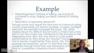 How to Refute An Opposing Argument