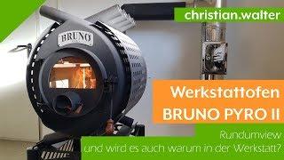 Werkstattofen / Warmluftofen Bruno Pyro II / 2 - 16kW