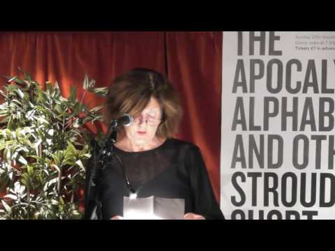 Author Kate O'Grady reads her story 'Porange' at Stroud Short Stories at the SVA on 20 November 2016