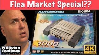 Amp With Built In Subwoofer? Kingwood RK 904 Flea Market Special [4K]