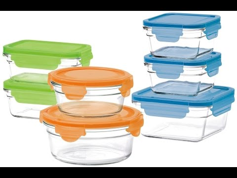 Review:  Glasslock 14-Piece Oven Safe Box Set with Lids