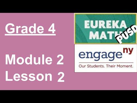 4th Grade Math Common Core Module 2 Lesson 1 - смотреть