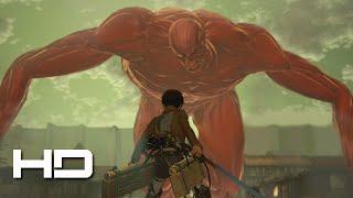ATTACK ON TITAN PS4 Eren VS The Colossal Titan Secret ENDING  Walkthrough Gameplay Cutscene