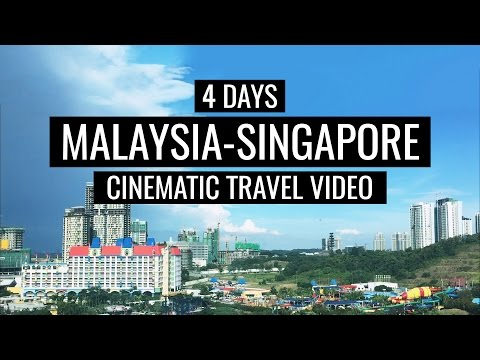 Malaysia & Singapore | iPhone Cinematic Travel Video