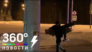 В аэропорт Ханты-Мансийска вызвали снайперов