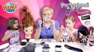 Robimy fryzury, paznokcie i make up z zestawami Professional Studio od Buki