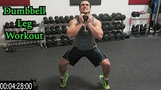 Intense 5 Minute Dumbbell Leg Workout by Anabolic Aliens