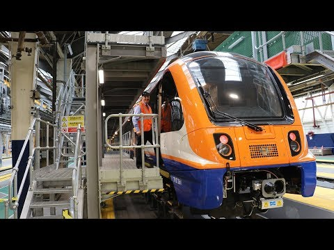 New Class 710 Overground Trains
