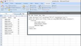 Converting XLS to XML - Tutorial (Excel spreadsheet to XML)