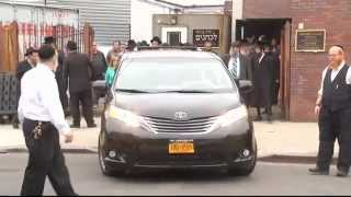 Funeral For Child Who Fell From Apartment  in Crown Heights