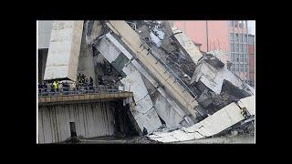 Названо число погибших при обрушении моста в Генуе   TVRu