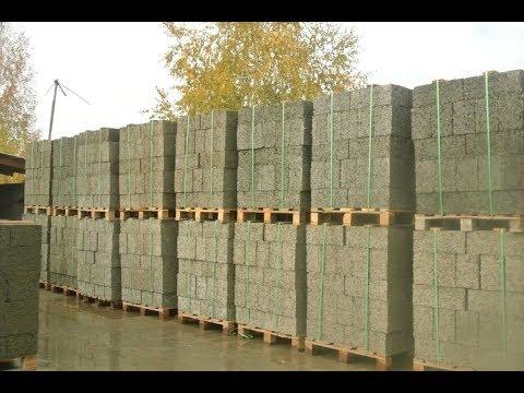 Арболитовые блоки. Технология производства качественного арболита от компании БорСтройЛес