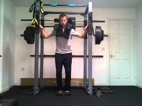 Safety Squat Bar Calf Raises - 200kg