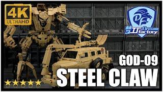 TF Dream Factory GOD 09 STEEL CLAW Transformers Bonecrusher