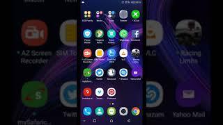 Infinix Hot 6 Pro Screen Recording