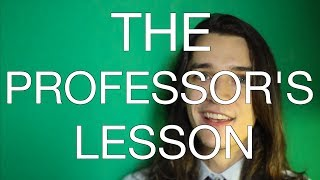 The Professor's Lesson