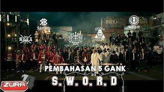 pembahasan gank sword dan cerita film high and low the movie (drama,action,japan)