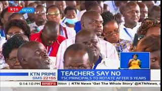 Headteachers reject new curriculum by TSC