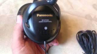 Panasonic RP  HTF 295 headphones