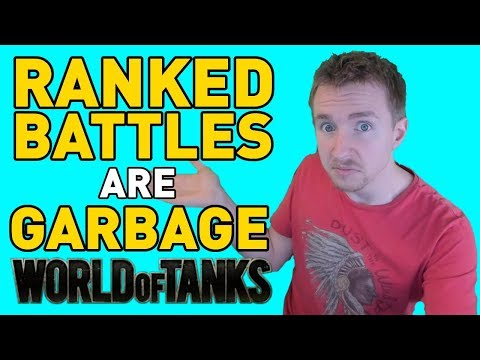 Ranked Battles are GARBAGE in World of Tanks