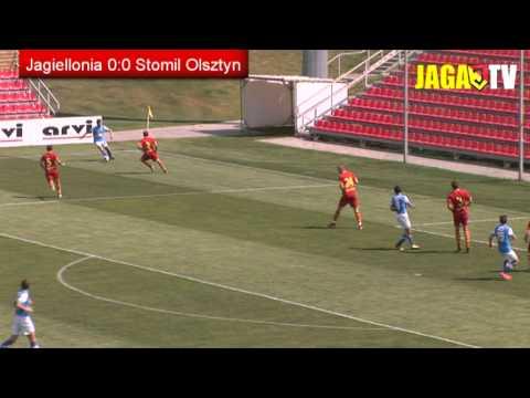 Skrót meczu Jagiellonia Białystok - Stomil Olsztyn